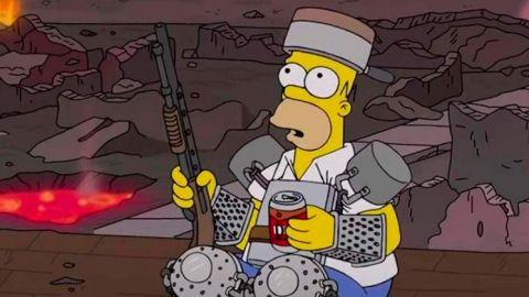 Las aterradoras 'profecías' de 'Los Simpson' para este 2021