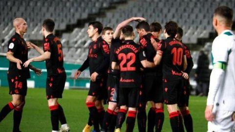 Willian José lleva a la Real Sociedad a octavos de final