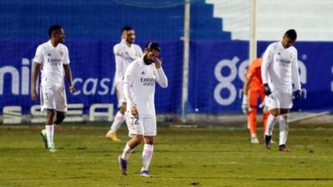 El Alcoyano tumba al todopoderoso Real Madrid
