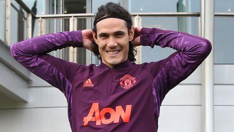 Edinson Cavani, el ejemplo para el Manchester United pese a sanción