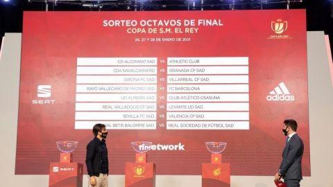 Alcoyano-Athletic y Rayo Vallecano-Barcelona, en octavos de Copa del Rey
