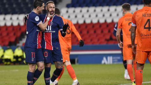 PSG golea a Montpellier y garantiza liderato en fútbol francés