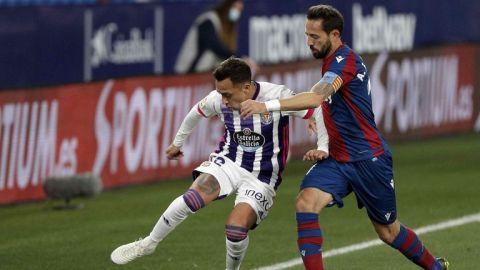 Levante y Valladolid brindan emocionante empate