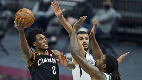 Sexton anota 25; Cavs vencen a Nets carentes de Durant