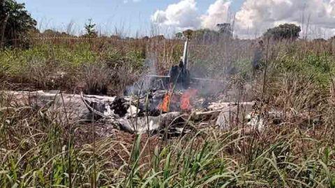 Mueren en accidente aéreo miembros de club brasileño de fútbol