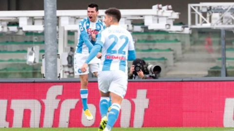 VIDEO: Chucky Lozano anota con el Napoli a los ocho segundos
