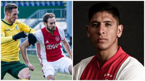 Edson Álvarez juega en triunfo del Ajax