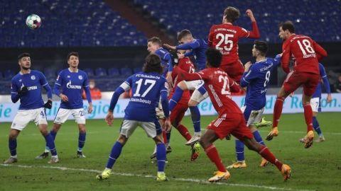 El Bayern golea al Schalke y pone tierra de por medio ante los competidores