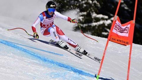 La suiza Lara Gut-Behrami gana el Super G de Crans Montana