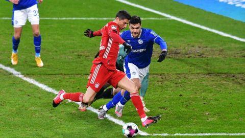 Lewandowski sigue haciendo historia en la Bundesliga