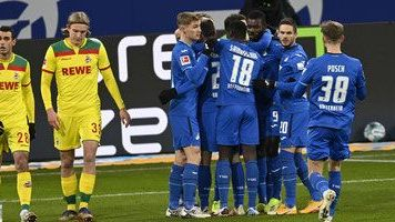 El Hoffenheim golea al Colonia y se aleja de la zona de descenso
