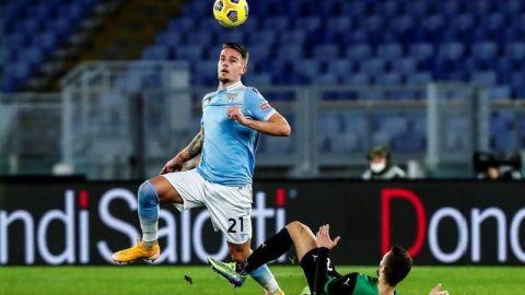 """El Lazio, sin Luis Alberto, presiona por la zona """"Champions"""""""