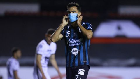 VIDEO: Querétaro y el festejo de gol anti Covid-19