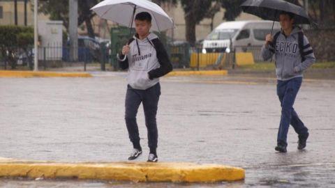 Continuarán lluvias en la región y posibles descargas eléctricas