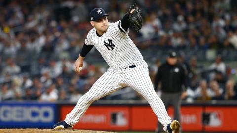 Red Sox adquirieron a Adam Ottavino en un cambio con los Yankees