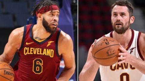 Nets buscan pactar un cambio con Cavaliers por Kevin Love y JaVale McGee