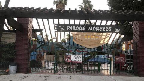 CIERRAN PARQUES MORELOS Y DE LA AMISTAD  POR CONDICIONES CLIMÁTICAS
