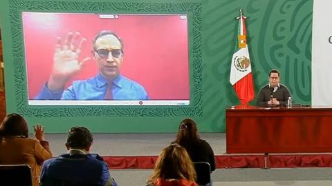 López-Gatell está aislado tras contacto con López Obrador