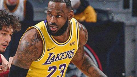 Un LeBron James gigantesco salva a los Lakers de la trampa de los Cavaliers