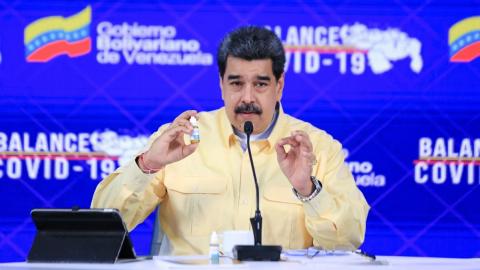 Esta es la verdad del Carvativir, las 'gotas milagrosas' de Maduro contra el COVID