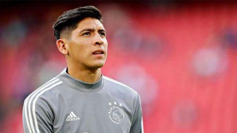 Edson Álvarez molesto por falta de minutos en Ajax