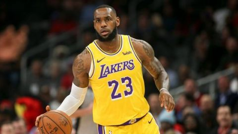LeBron James, favorito al MVP en algunas casas de apuestas