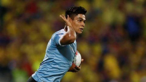 Matías Arezo, la nueva joya del fútbol uruguayo, en la mira de Europa