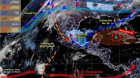 En unas horas llega la tercera tormenta a Tijuana