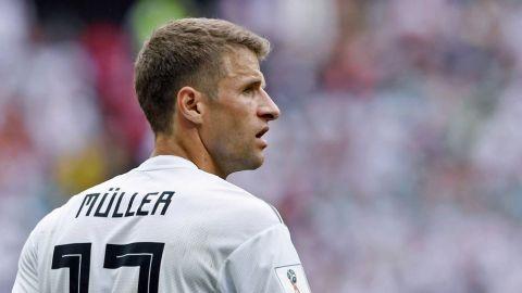 Thomas Müller no representará a Alemania en Juegos Olímpicos de Tokio