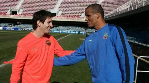 Rivaldo cree que fue un error no vender a Lionel Messi