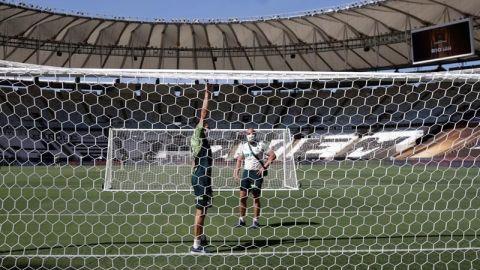 El Palmeiras pasea en el Maracaná y el Santos se divierte