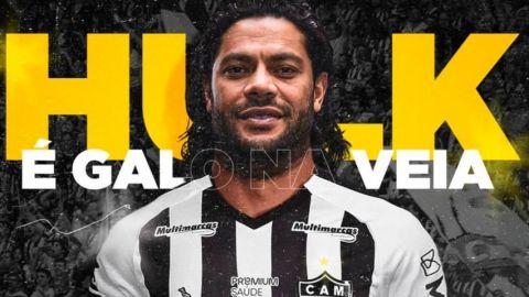 El Atlético Mineiro anuncia el fichaje del brasileño Hulk