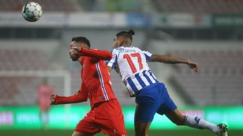 VIDEO: Golazo del 'Tecatito' en Copa de Portugal