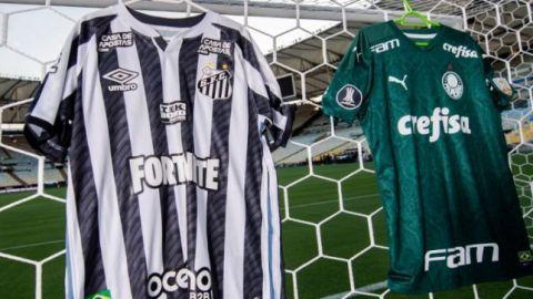 Santos y Palmeiras van por el título de Copa Libertadores