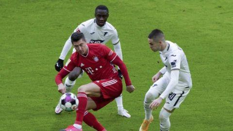 Bayern Munich vence a Hoffenheim 4-1 en Bundesliga