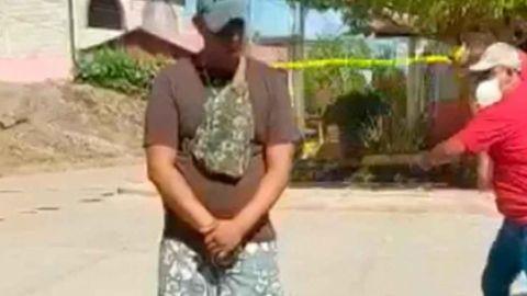VIDEO: Dan latigazos a quienes no usan cubrebocas en Tierra Caliente, Guerrero