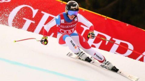 Lara Gut gana el super G de Garmisch
