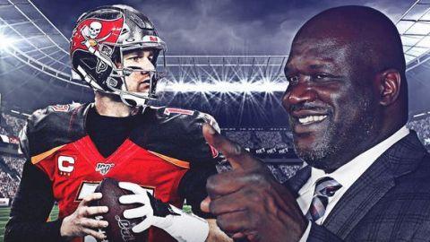 Shaquille O'Neal dijo que Tom Brady se vengará de los Patriots en el Super Bowl