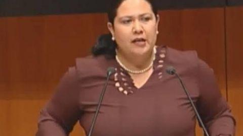 Alejandra León pedirá licencia al Senado para ir como precandidata de Mexicali