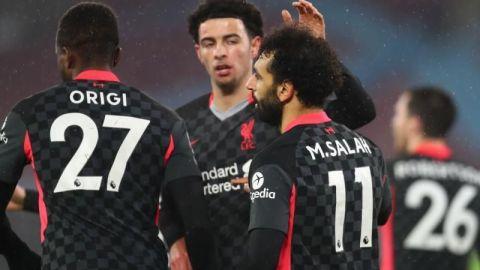 Salah entona al Liverpool para el triunfo