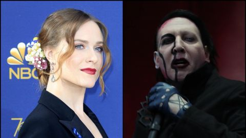 Evan Rachel Wood acusa a Marilyn Manson de abuso sexual