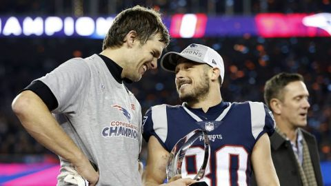 """Danny Amendola: 'Tom Brady es la """"Manera Patriot"""", no los entrenadores"""