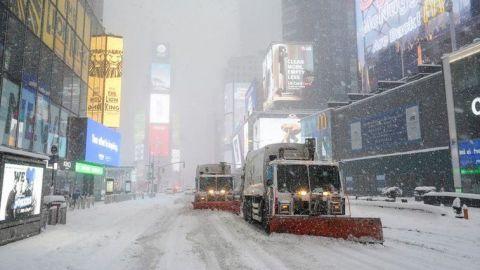 Amenazadora tormenta invernal azota el noreste de Estados Unidos