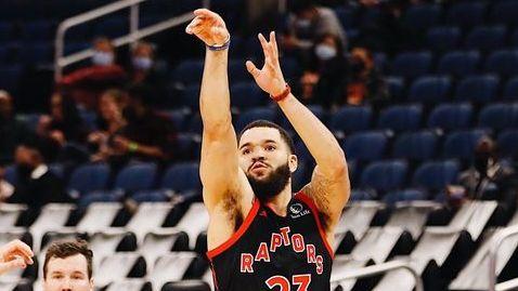 VanVleet brilla con 54 puntos, en triunfo de Raptors