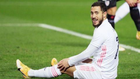 Hazard sufre una nueva ''lesión muscular''; será baja al menos un mes