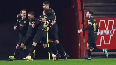 Reacción in extremis del Barça para pasar a semifinales en la prórroga