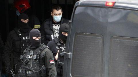 Arrestan a barras en Serbia por 'delitos monstruosos'