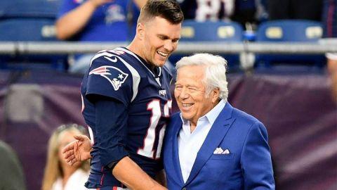 Dueño de Patriots dejó en claro que apoyará a Tom Brady en el Super Bowl