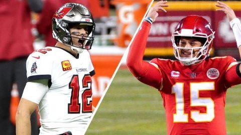 Super Bowl: Muchas historias en torno a duelo Brady-Mahomes