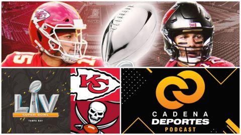 CADENA DEPORTES PODCAST: ¿Quién se lleva el Super Bowl LV?